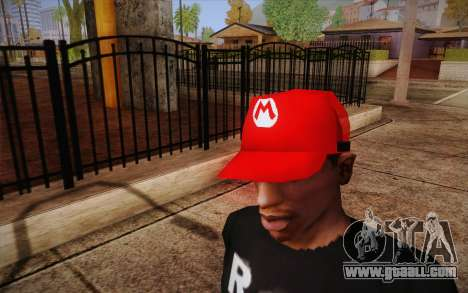 Super Mario Cap for GTA San Andreas third screenshot