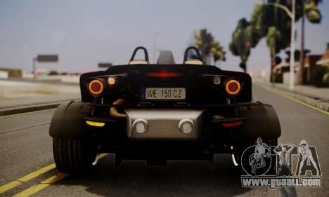 KTM X-Bow R 2011 for GTA San Andreas side view
