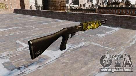 Ружьё Franchi SPAS-12 Woodland for GTA 4 second screenshot