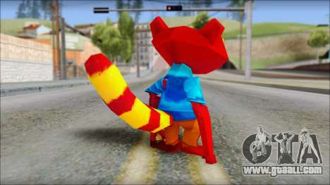 Chang the Firefox from Fur Fighters Playable for GTA San Andreas third screenshot