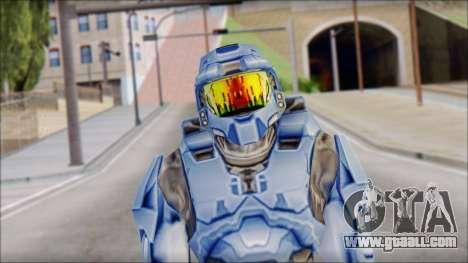 Masterchief Blue from Halo for GTA San Andreas
