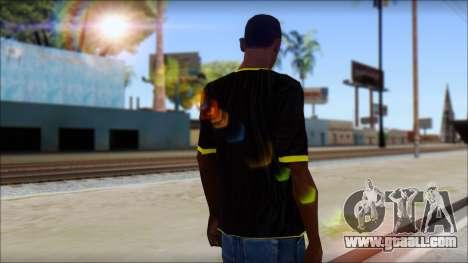 Harley Davidson T-Shirt for GTA San Andreas second screenshot