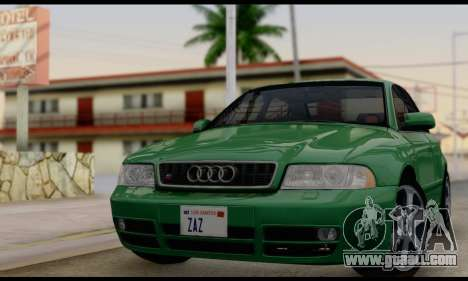Audi S4 2000 for GTA San Andreas