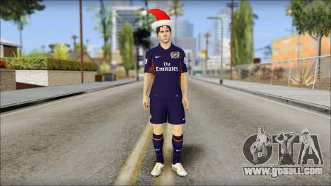 Messi Arsenal Christmas Special for GTA San Andreas