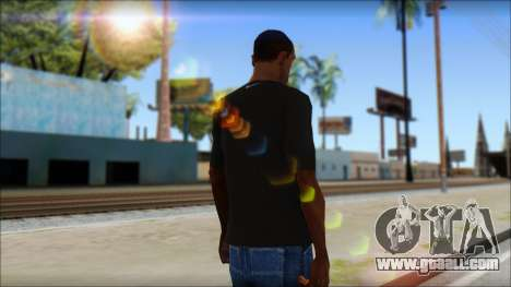 Kobie Shirt for GTA San Andreas second screenshot