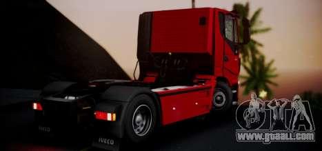 Iveco Stralis HI-ROAD for GTA San Andreas left view