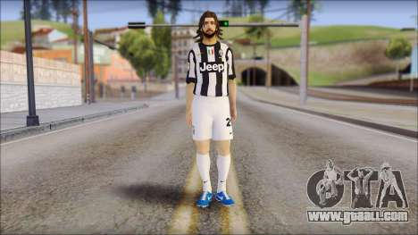 Andrea Pirlo for GTA San Andreas