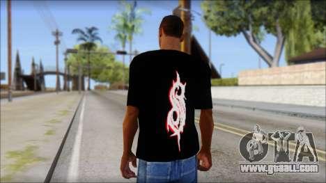 SlipKnoT T-Shirt v5 for GTA San Andreas second screenshot