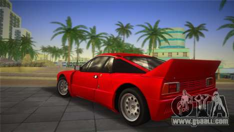 Lancia Rally 037 1982 for GTA Vice City left view