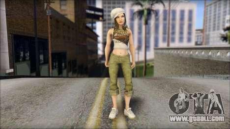 An Aspiring Miss for GTA San Andreas