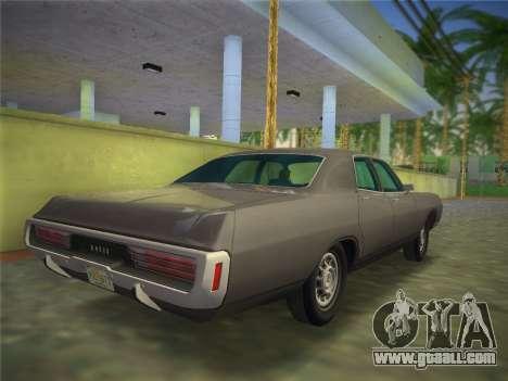 Dodge Polara 1971 for GTA Vice City left view