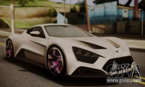Zenvo ST SHDru Tuning for GTA San Andreas