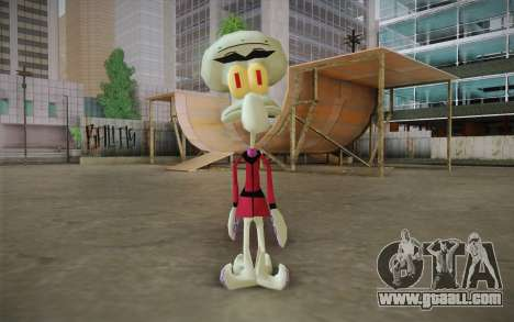 Squilliam from Sponge Bob for GTA San Andreas
