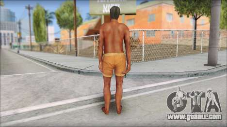 Beach Character 4 for GTA San Andreas third screenshot