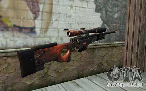 AWP (Space) for GTA San Andreas second screenshot