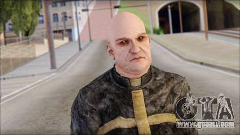 Father Martrin From Outlast for GTA San Andreas third screenshot