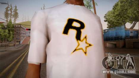 Rockstar Games Shirt for GTA San Andreas third screenshot
