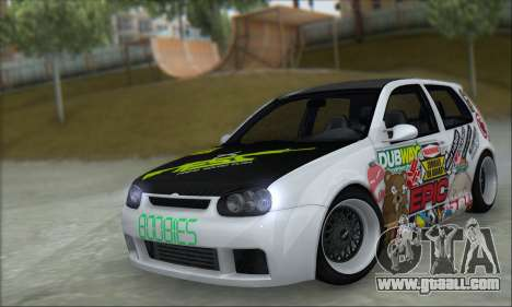 Volkswagen Golf MK4 R32 for GTA San Andreas left view
