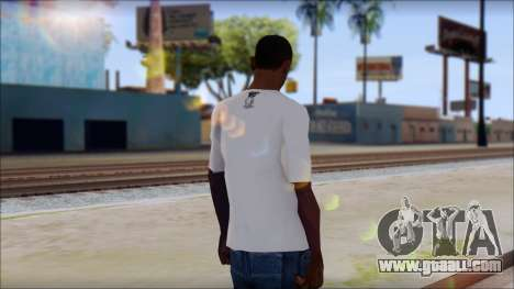 MTV T-Shirt for GTA San Andreas second screenshot