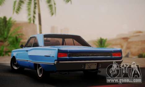Dodge Coronet 440 Hardtop Coupe (WH23) 1967 for GTA San Andreas left view