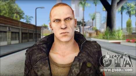 Jake Muller from Resident Evil 6 v2 for GTA San Andreas third screenshot