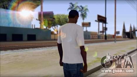 The Clash T-Shirt for GTA San Andreas second screenshot