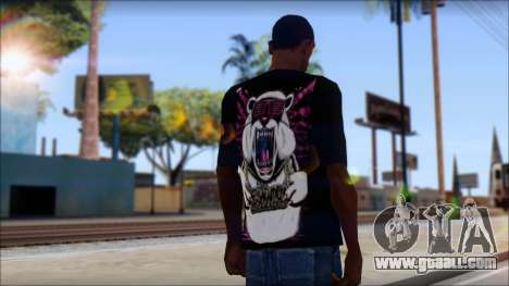 Eskimo Callboy Eisbaer T-Shirt for GTA San Andreas second screenshot