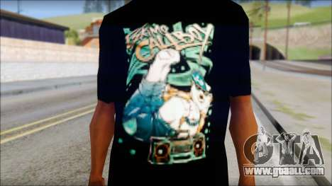 Eskimo Callboy Fan T-Shirt for GTA San Andreas third screenshot
