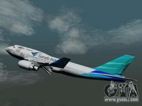 Boeing 747-400 Garuda Indonesia for GTA San Andreas