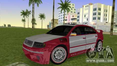 Skoda Superb Tuned for GTA Vice City