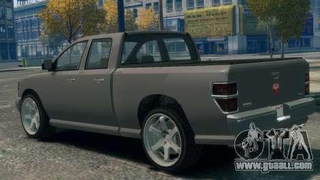 GTA V Bravado Bison for GTA 4 left view