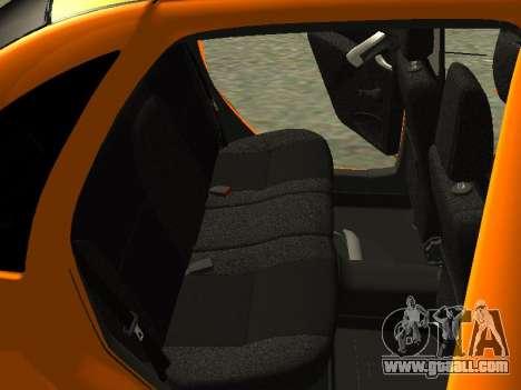 Lada Granta for GTA San Andreas bottom view