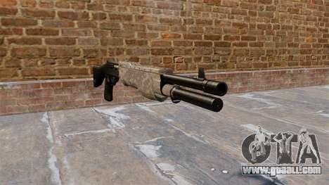 Gun Franchi SPAS-12 ACU Camouflage for GTA 4