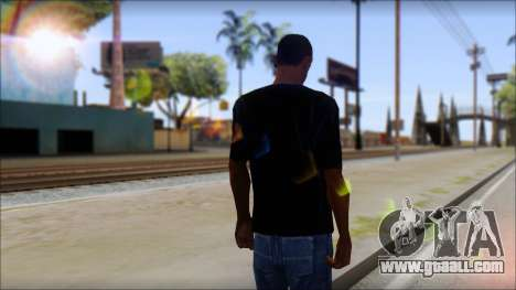 Linkin Park T-Shirt for GTA San Andreas second screenshot
