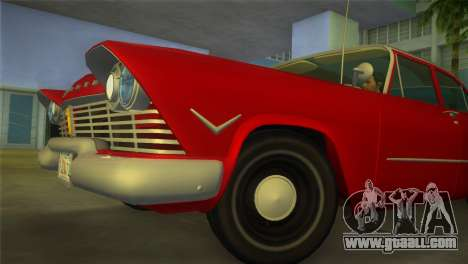 Plymouth Savoy Club Sedan 1957 for GTA Vice City right view