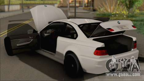 BMW M3 E46 Black Edition for GTA San Andreas right view