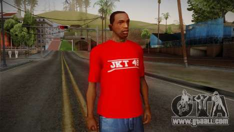 JKT48 Hardcore T-Shirt for GTA San Andreas