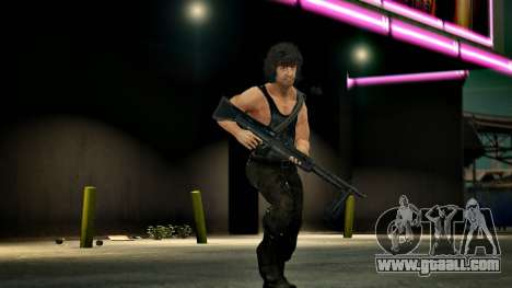 Rambo for GTA 4 second screenshot