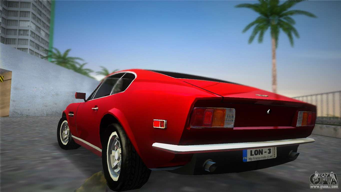 aston martin v8 vantage 1970 for gta vice city. Black Bedroom Furniture Sets. Home Design Ideas