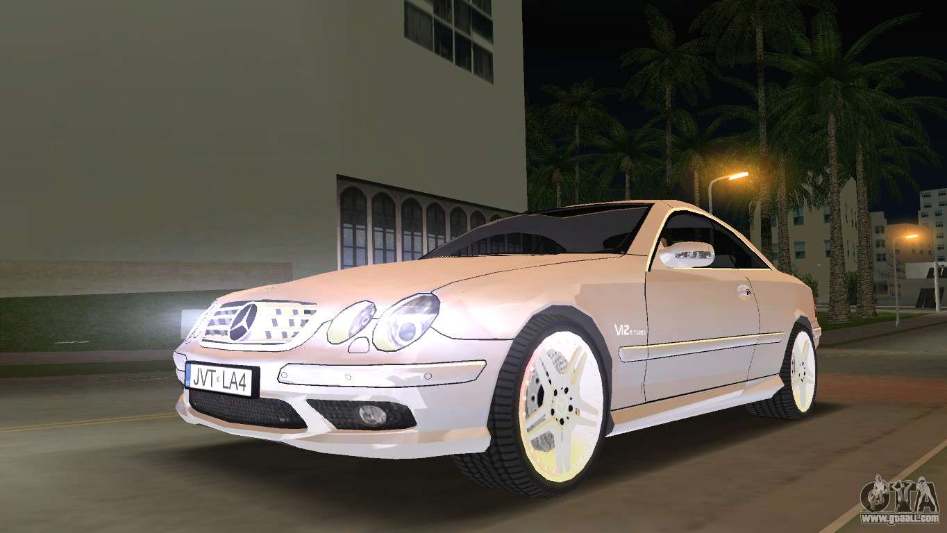 Mercedes benz cl65 amg for gta vice city for Mercedes benz city