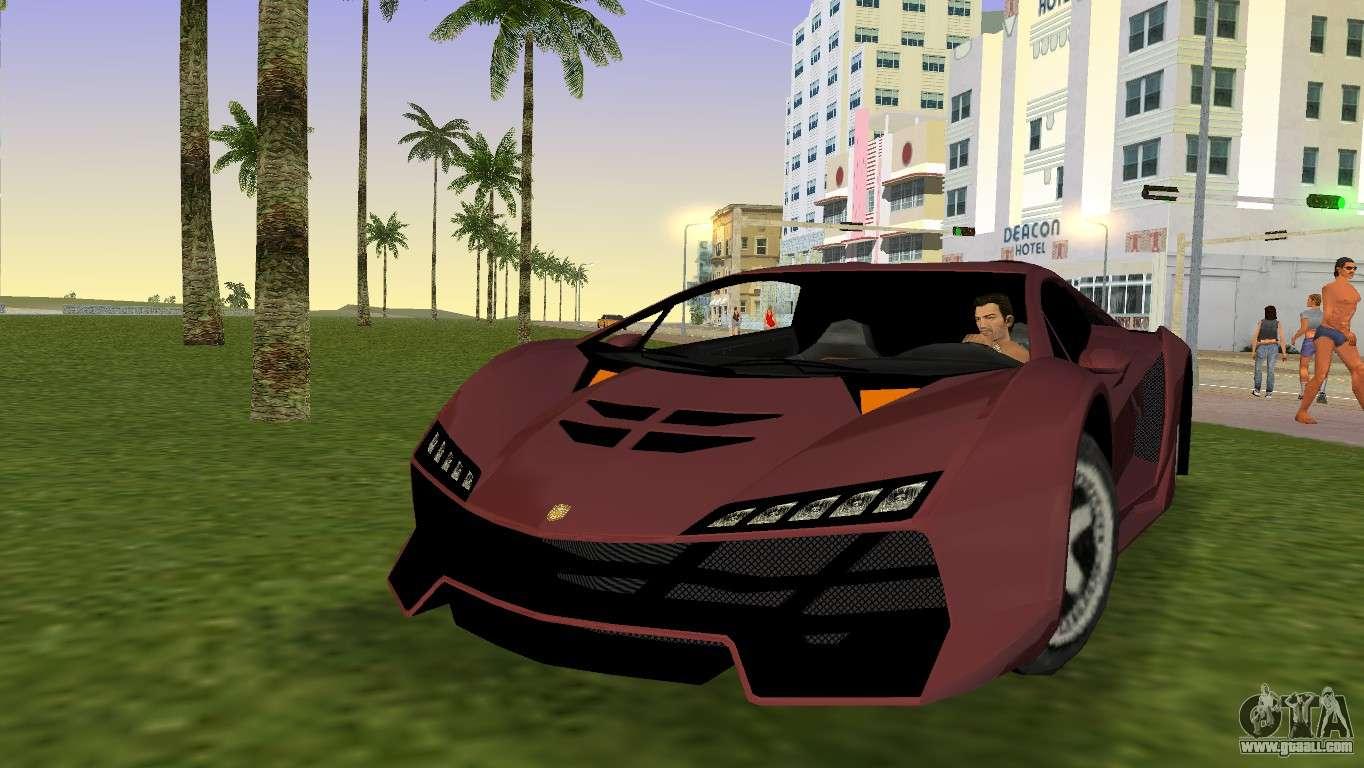 Stinger Car In Gta Vice City