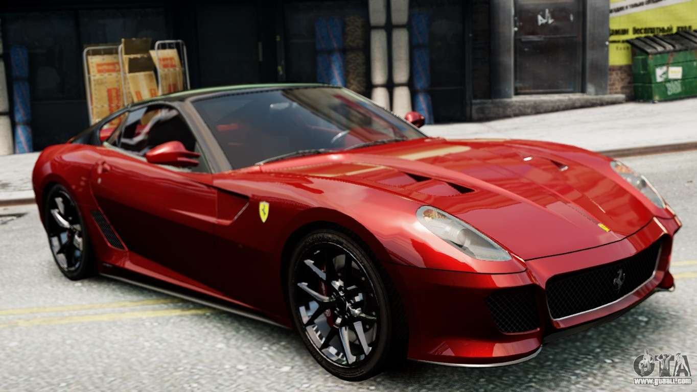 ferrari 599 gto for gta 4. Black Bedroom Furniture Sets. Home Design Ideas