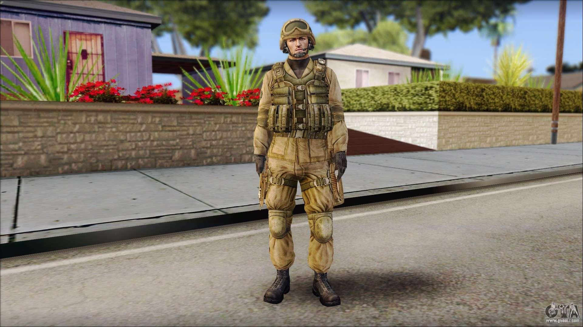 Desert Gafe Soldier Front 2