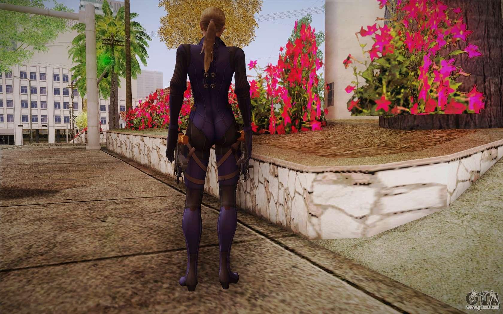 Jill Valentine from Resident Evil: Revelations for GTA San