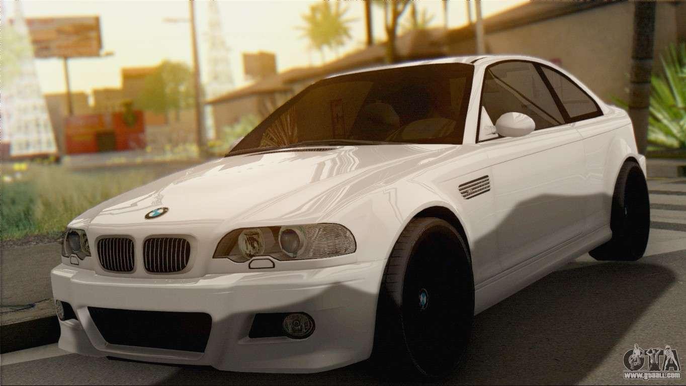 Bmw M3 E46 Black Edition For Gta San Andreas