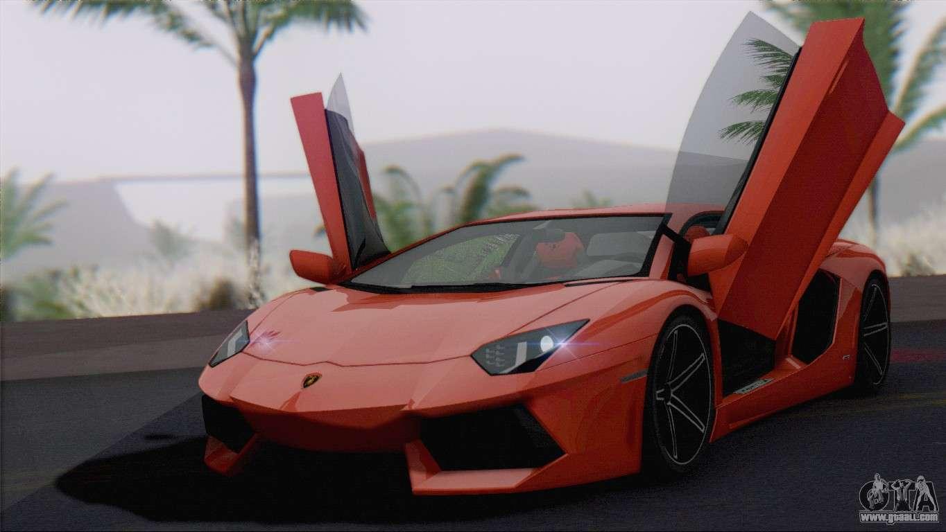 Lamborghini Aventador LP700 4 2012 For GTA San Andreas