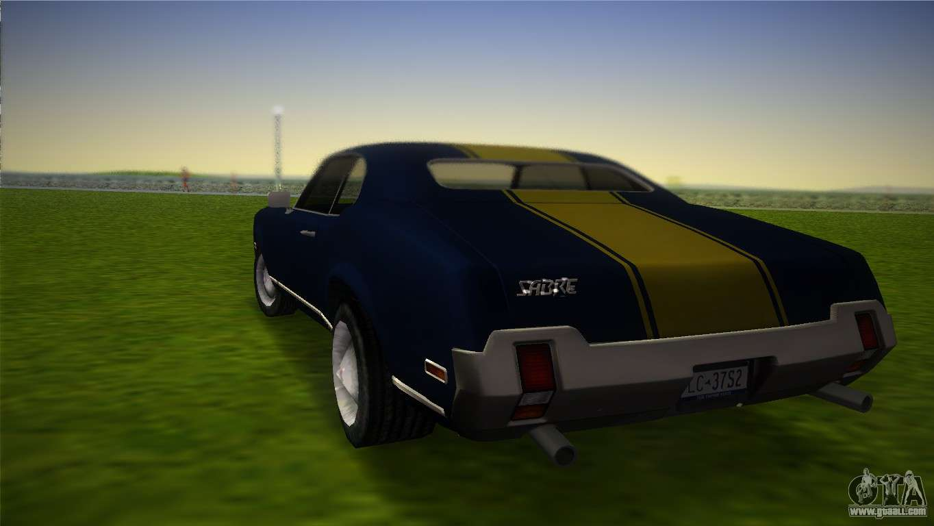 Hd Sabre Turbo For Gta Vice City