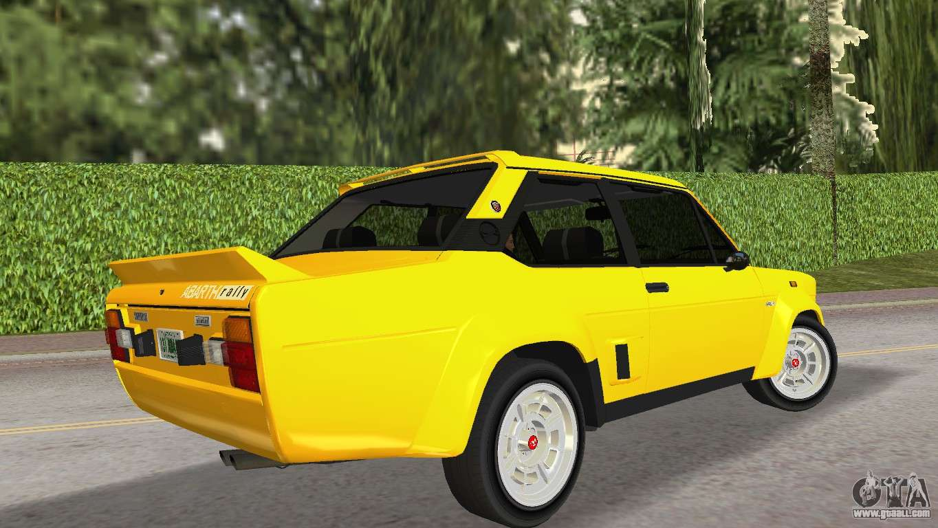 Fiat Of Glendale >> Fiat 131 Abarth Rally 1976 for GTA Vice City