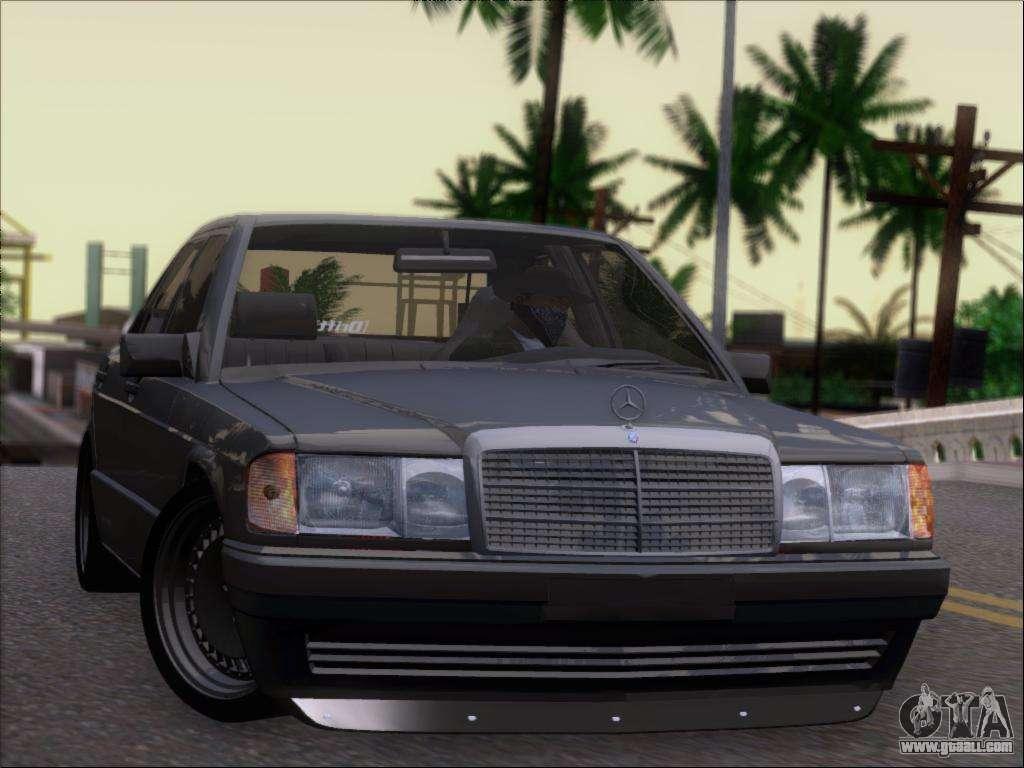 Mercedes benz 190e drift v8 for gta san andreas for 190e mercedes benz