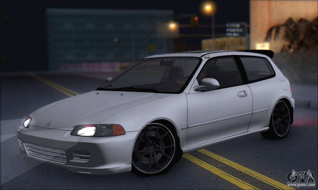 honda civic 1995 for gta san andreas. Black Bedroom Furniture Sets. Home Design Ideas